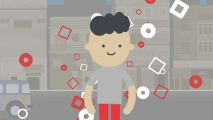 2D animated character