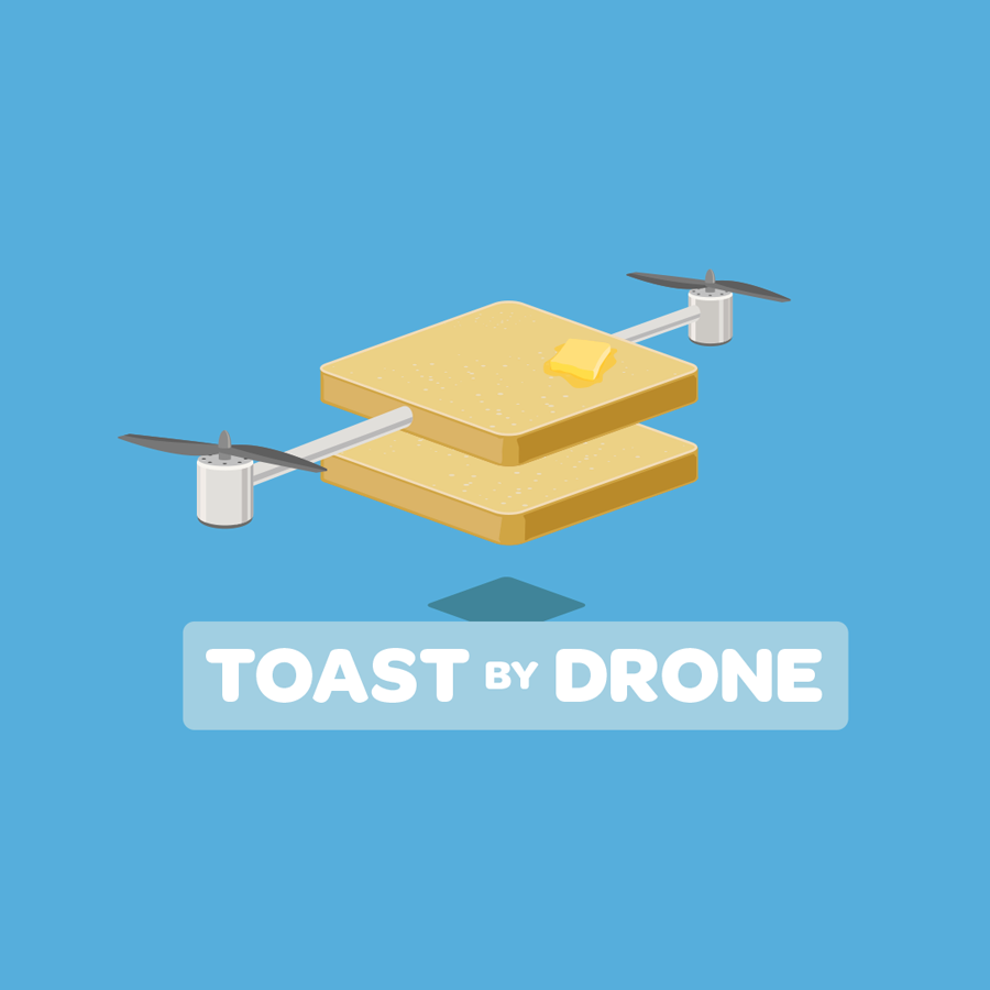 drone delivery logo