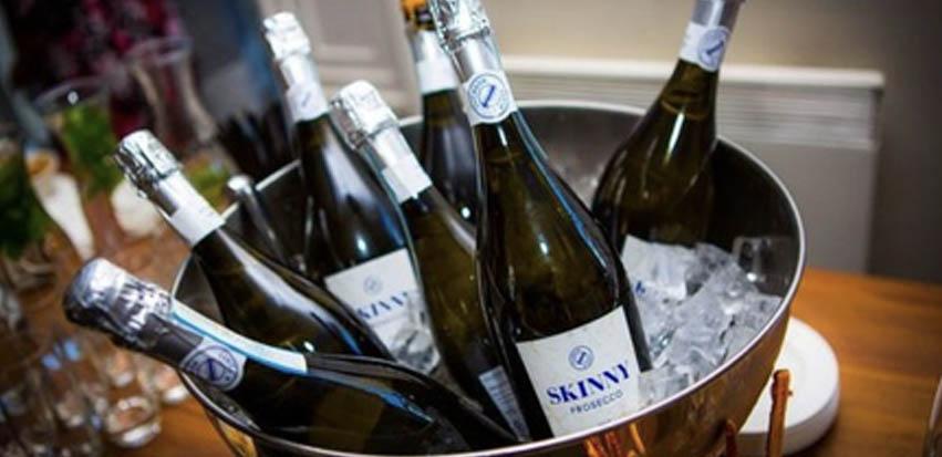 Skinny Prosecco Bottles