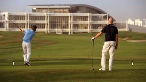 Golf game in Bahrain
