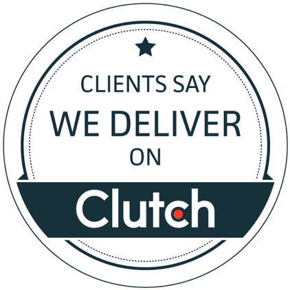 we deliver on clutch badge