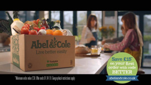 Abel Cole TV advert
